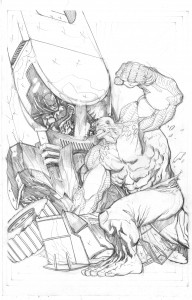 Damage#13coverpencil