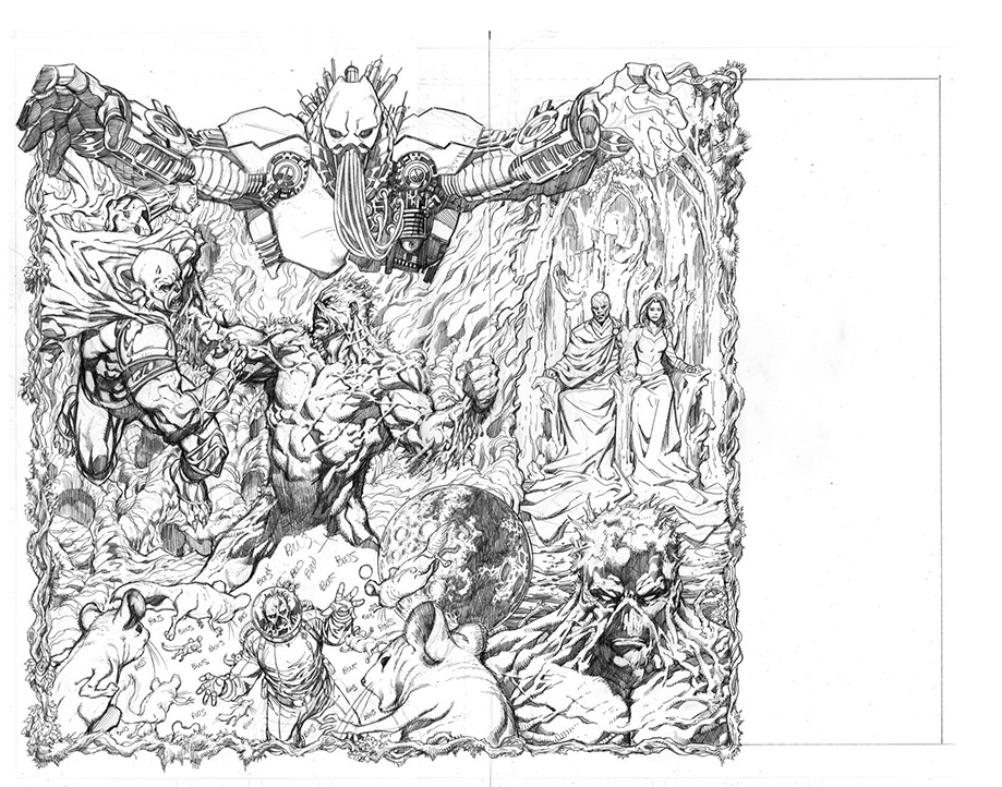 swamp monster coloring pages | Aaron Lopresti's Online Store